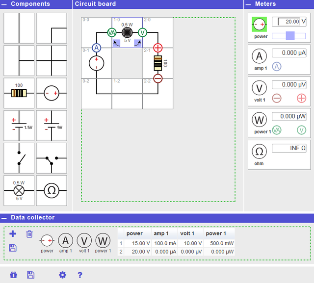 Electrical Circuit Lab | Golabz